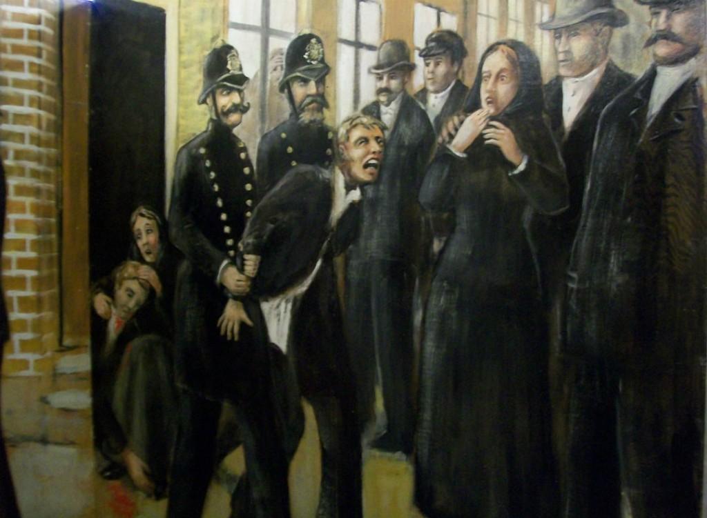 Några  utvandrare blev fulla. Det var många fulla människor och slagsmål på Sillgatan. Gatan hade ett dåligt rykte och det var bäst att stanna inne i sitt rum på kvällarna, så att man inte blev skadad eller hamnade hos polisen.